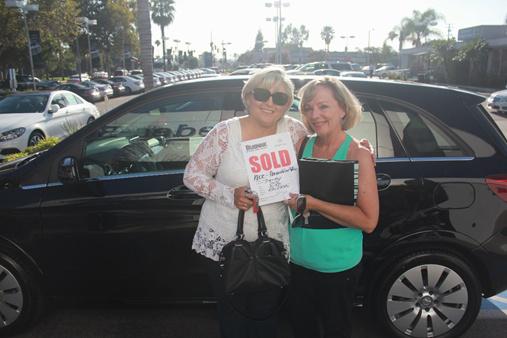 Donna Van Allen and her partner Della