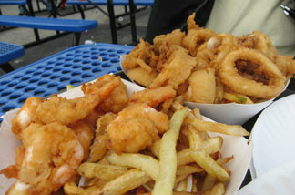 What would state and county fairs be without fried food?