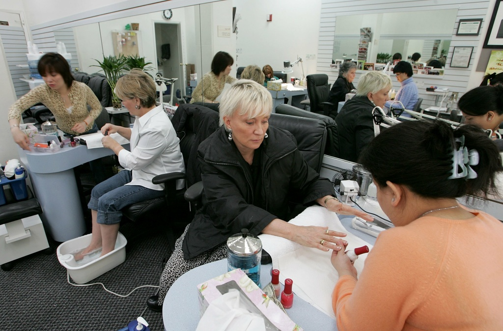 The city of Santa Monica has teamed up with a state group to improve working conditions at nail salons in the area.