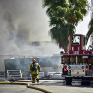 Animo Charter School fire
