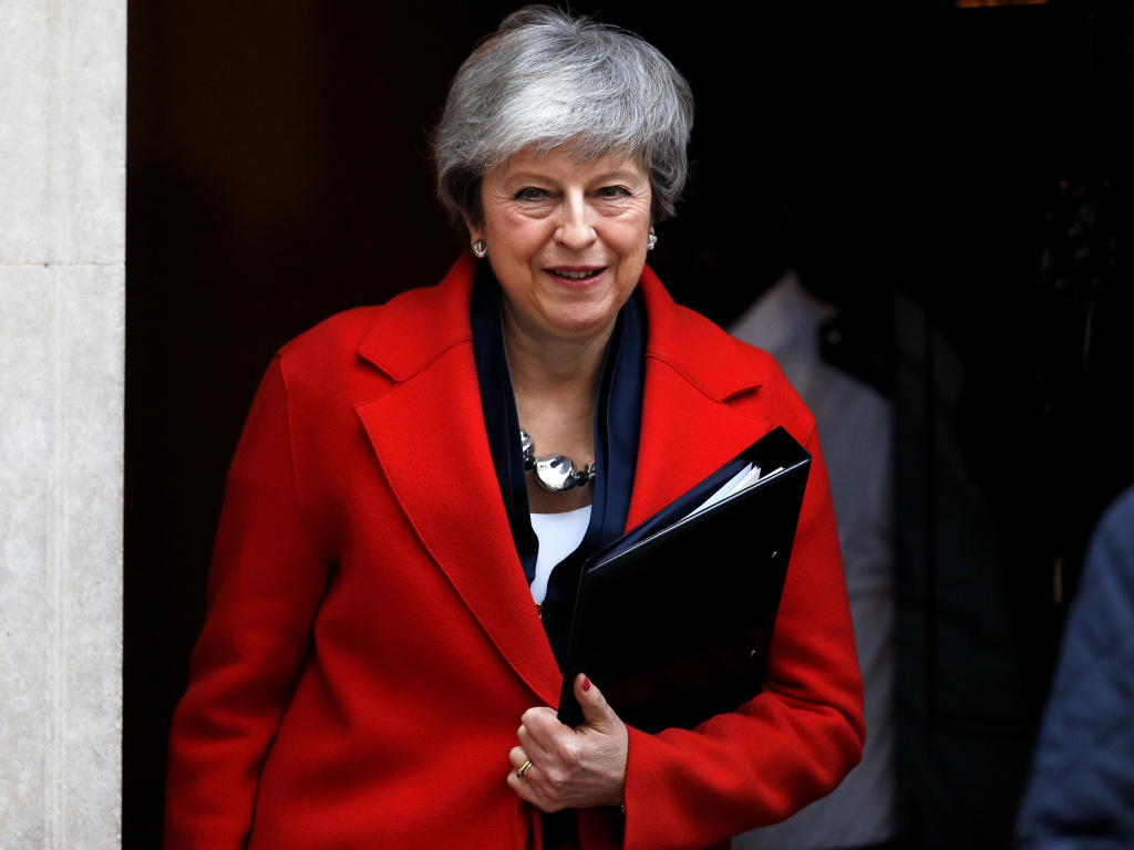U.K. Prime Minister Theresa May says that the House of Commons could vote on March 14 to