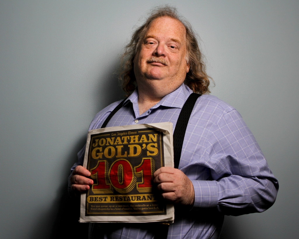 Los Angeles Times restaurant critic Jonathan Gold.