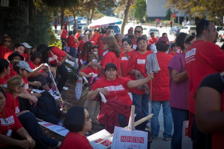 USC Health Worker Strike