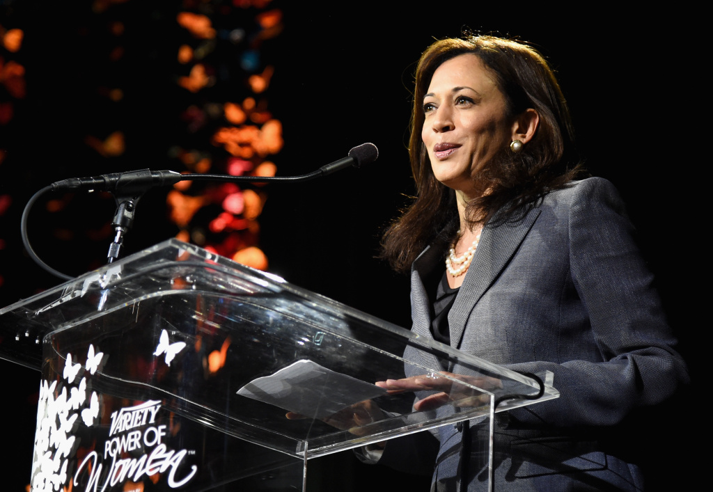 California Attorney General Kamala Harris at the 2014 Variety Power of Women event on October 10, 2014 in Los Angeles, California.