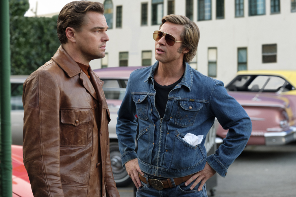 Brad Pitt and Leonardo DiCaprio both have SAG Award nominations for