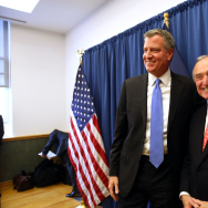 Mayor-Elect Bill De Blasio Announces William Bratton As City's Next Police Chief