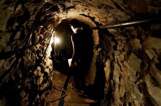 Drug tunnel found at border