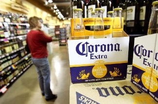 Corona, a Mexican brand, is the second most popular beer among Latinos in the U.S., after Bud Light.