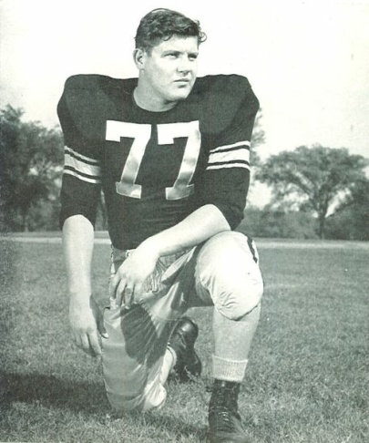 This 1971 file photo shows  Alex Karras in a Detroit Lion uniform. Two Detroit newspapers reported he was diagnosed with kidney failure shortly before his death.