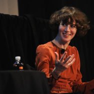 Director Miranda July attends The Golden State: Michael Chabon, Ryan Coogler, Miranda July, and Robert Towne Moderated by Deborah Teismanon during The New Yorker Festival 2014 on October 10, 2014 in New York City.