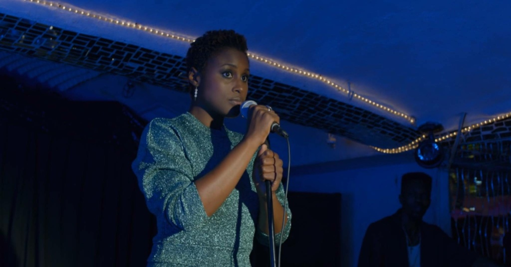 Issa Rae performs
