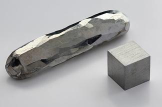 A crystal cadmium bar.
