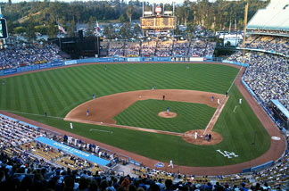 File photo: Dodger Stadium July 7, 2010 - The Los Angeles Dodgers defeated the Chicago Cubs 7-0.