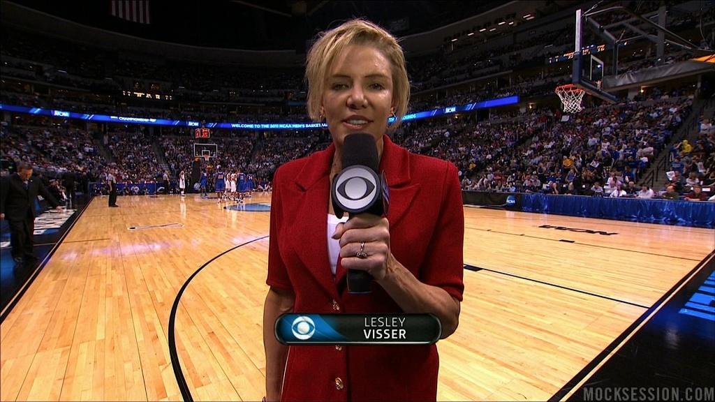 Veteran sportscaster Lesley Visser
