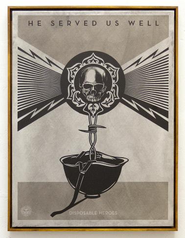 Shepard Fairey's piece