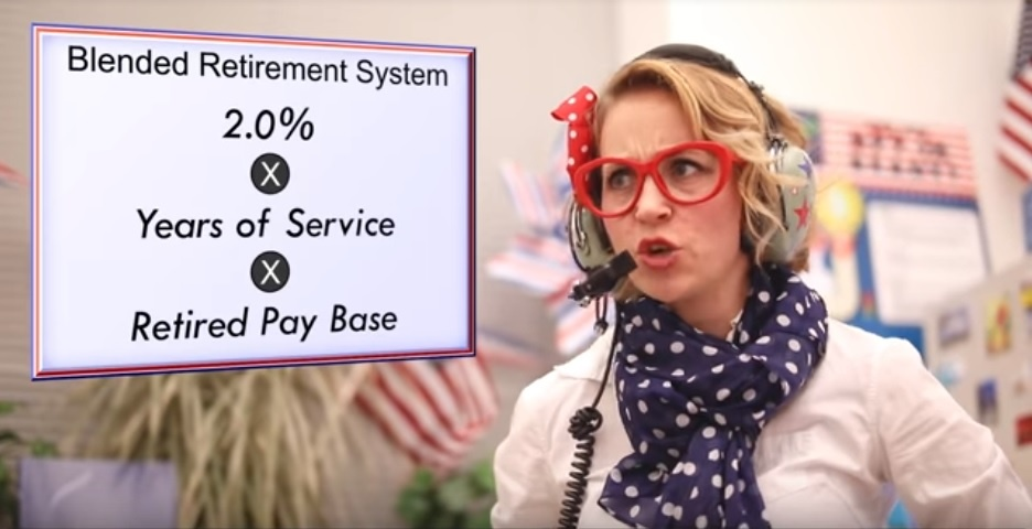 The Department of Defense is investing in training and financial literacy tools to help with the transition to the Blended Retirement Program. Pictured: