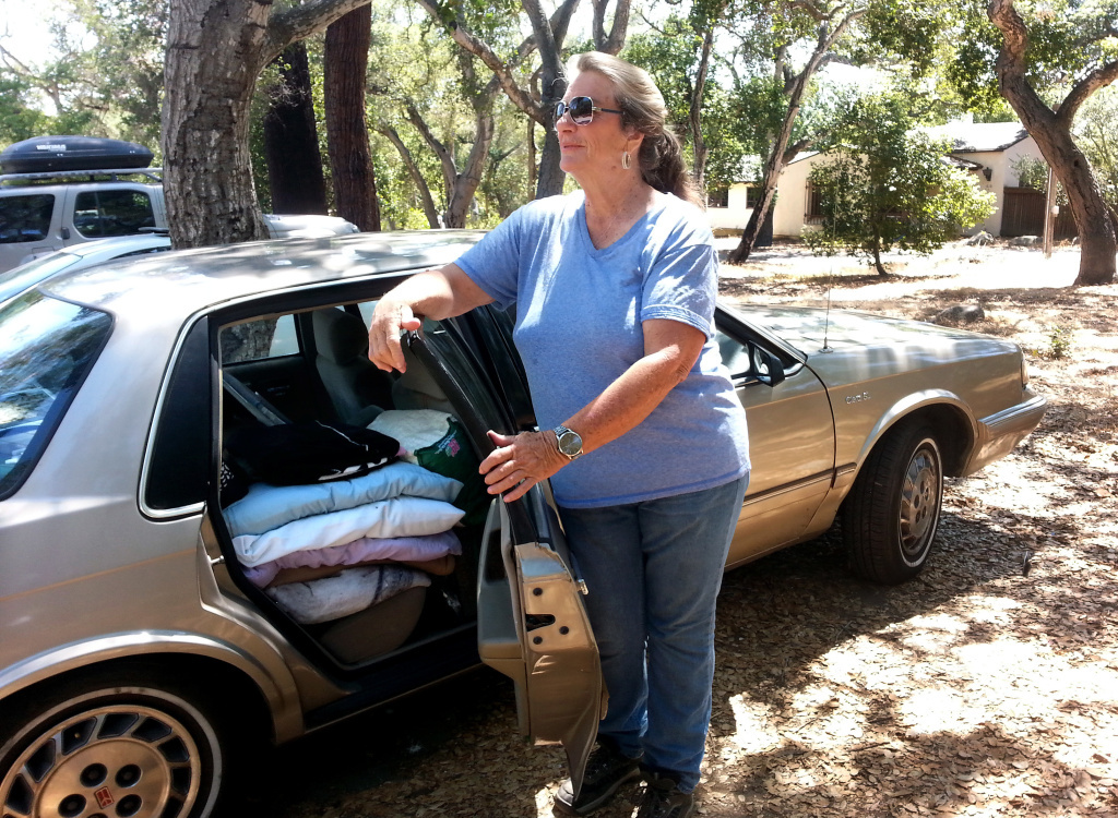 Audio: For some seniors without housing, a parking lot is ...
