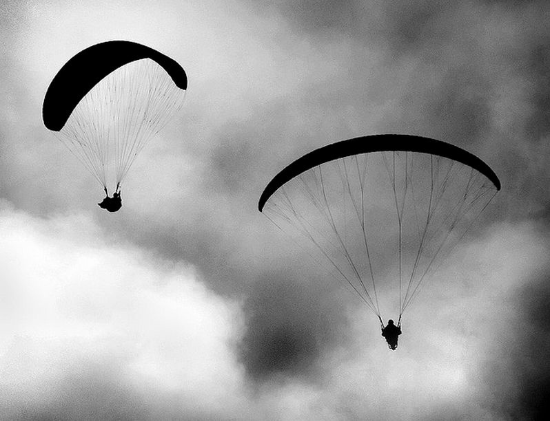 Paraglider Died Of Heart Failure Before Launching, Autopsy