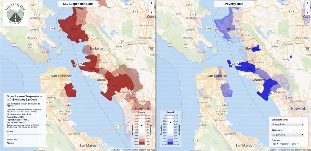Document: California traffic courts hit poor, minority