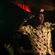 NEW YORK, NY - AUGUST 03:  Tyler, The Creator performs at Webster Hall on August 3, 2017 in New York City.  (Photo by Johnny Nunez/WireImage)