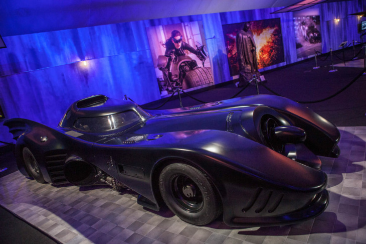 The Batman suit worn by Christian Bale in