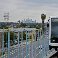 metro gold line subway rail la cienega