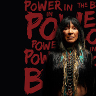 "Cover art for Buffy Sainte Marie's ""Power in the Blood"""