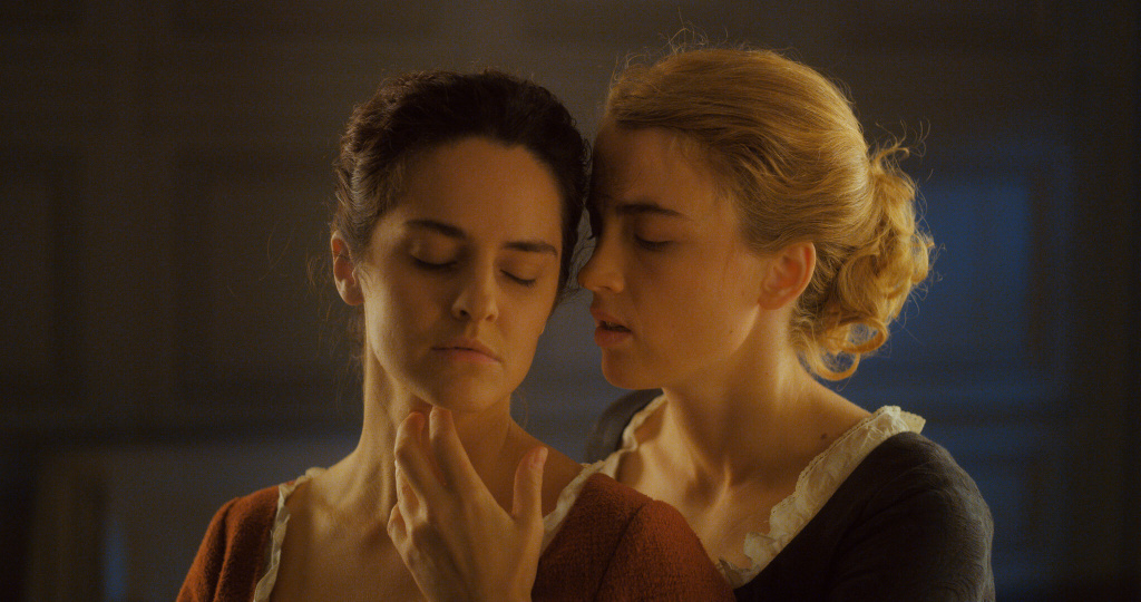 Adèle Haenel, right, and Noémie Merlant star in Céline Sciamma's