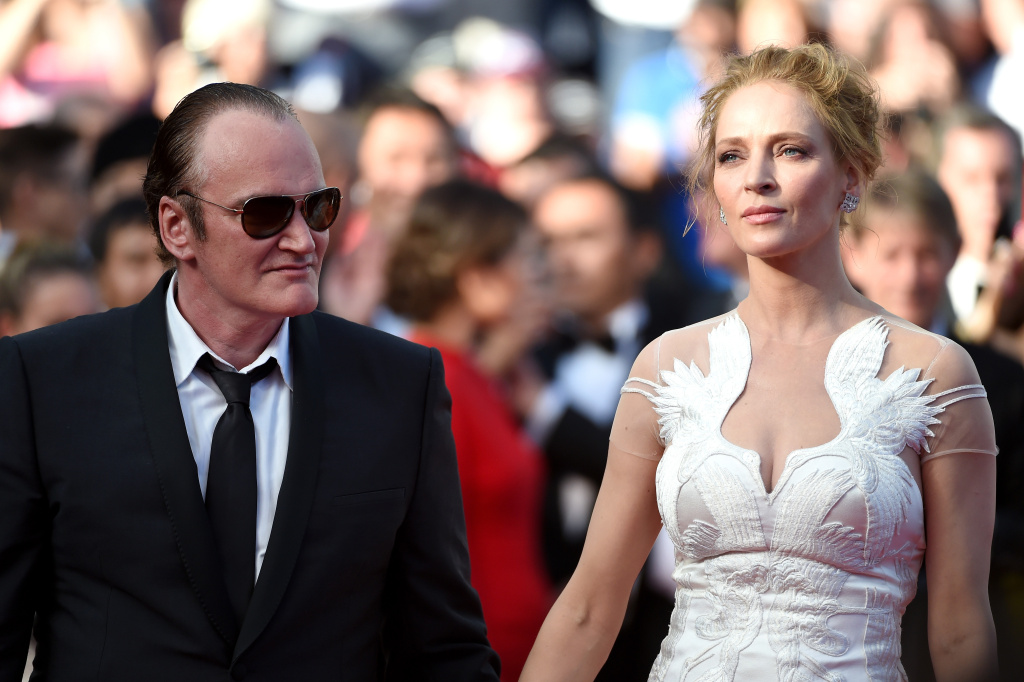 Quentin Tarantino and Uma Thurman attend the Closing Ceremony and