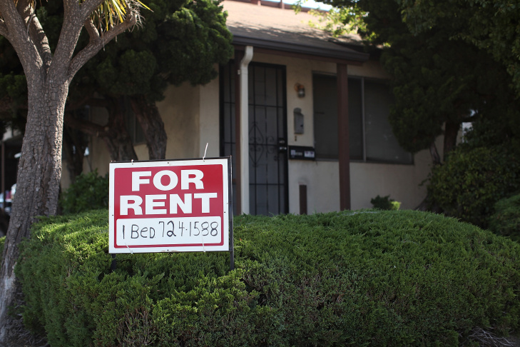 What has your hunt for a rental in Los Angeles been like?