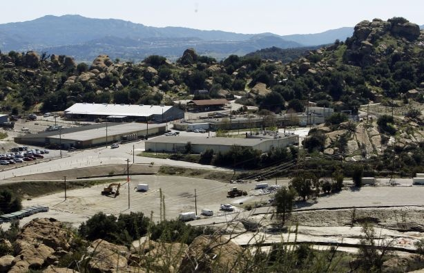 This Feb. 12, 2009 photo shows buildings at the old Rocketdyne facility, the Santa Susana Field Laboratory, in the Simi Valley area near Los Angeles. The company was just sold for $550 million.