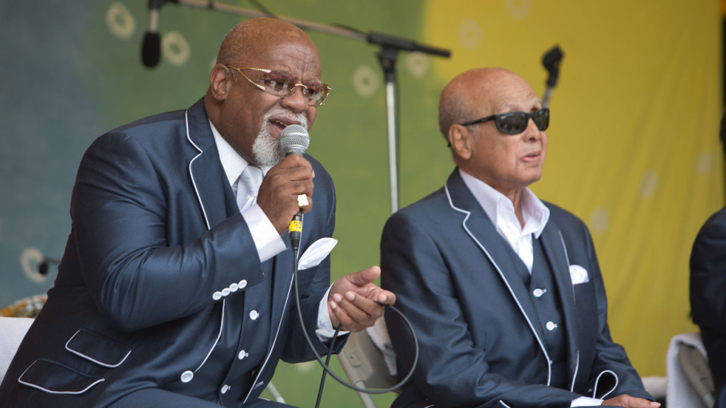 The Blind Boys of Alabama in 2015