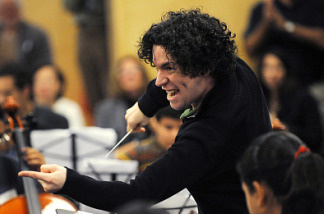 Gustavo Dudamel's official debut as music director,