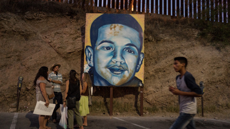 An appeals court has ruled in favor of the family of Jose Antonio Elena Rodriguez, who was shot on the Mexican side of the border at Nogales by an American agent who was on the U.S. side of the border.