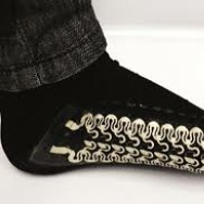 Stylish and sensitive socks