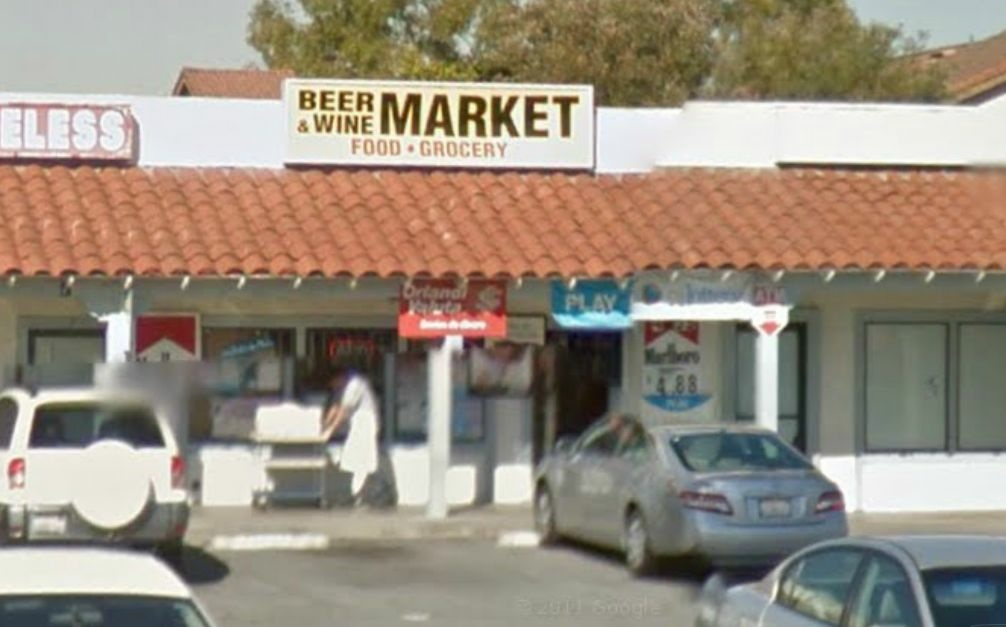 The Beer & Wine Market on Carson Street in Hawaiian Gardens.