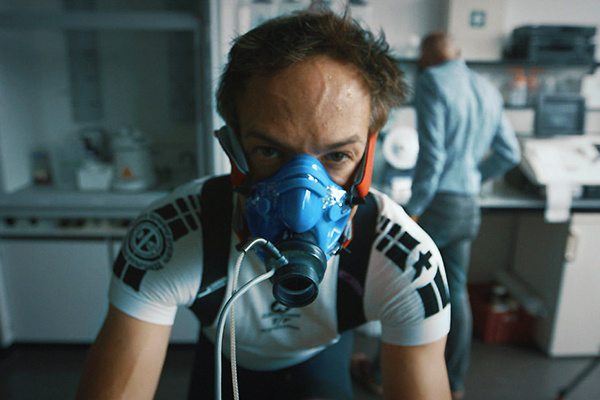 Filmmaker Bryan Fogel in his documentary