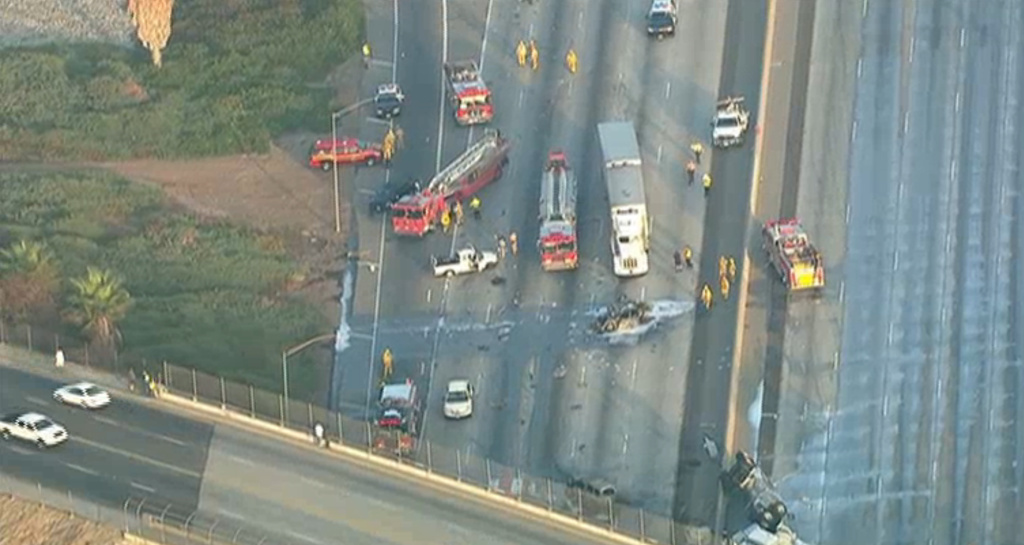 60 Freeway Closure All Lanes Clear After Crash That Left 5 Year Old Dead Many Injured