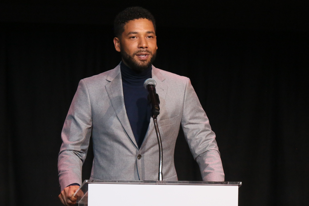 Jussie Smollett speaks at the Children's Defense Fund California's 28th Annual Beat The Odds Awards at Skirball Cultural Center on December 6, 2018 in Los Angeles, California.