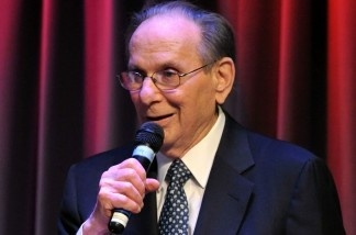 Songwriters are either hams, or just concerned that SOMEONE performs their songs right ... or maybe both. Here's Hal David singing at the Grammy Museum's Songwriters Hall of Fame Gallery inaugural concert, and he can still put a song over.
