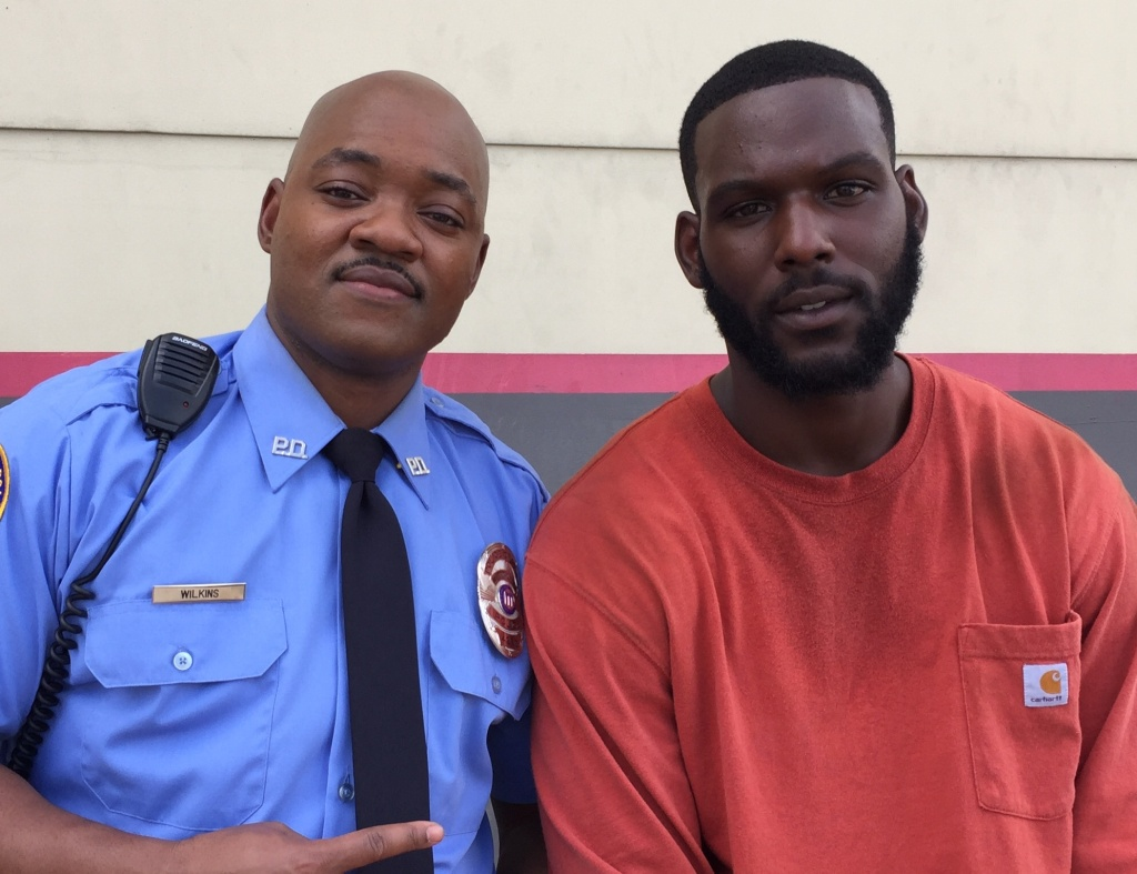 "Brian Michael Smith as ""Toine"" and Kofi Siriboe as ""Ralph Angel Bordelon"" in ""Queen Sugar."""