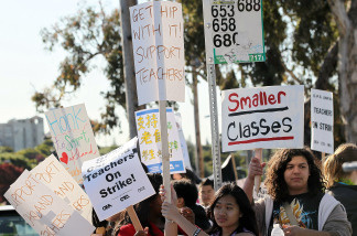 The Los Angeles Times released a comprehensive review of LAUSD teachers stirring up controversy in the district.