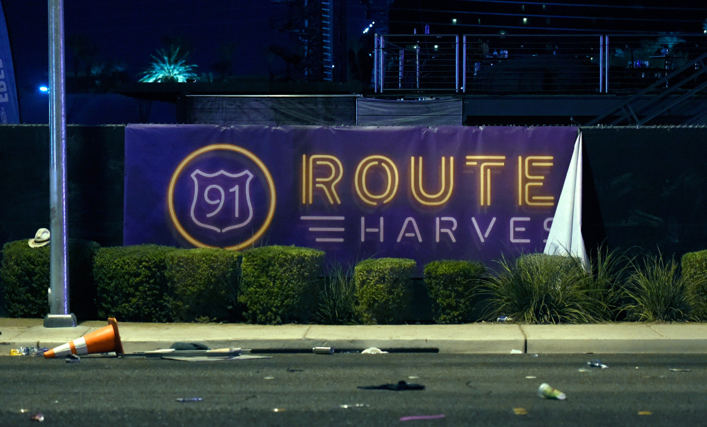 The Route 91 Harvest country music festival in Las Vegas was the target of a gunman who opend fire on the crowd.