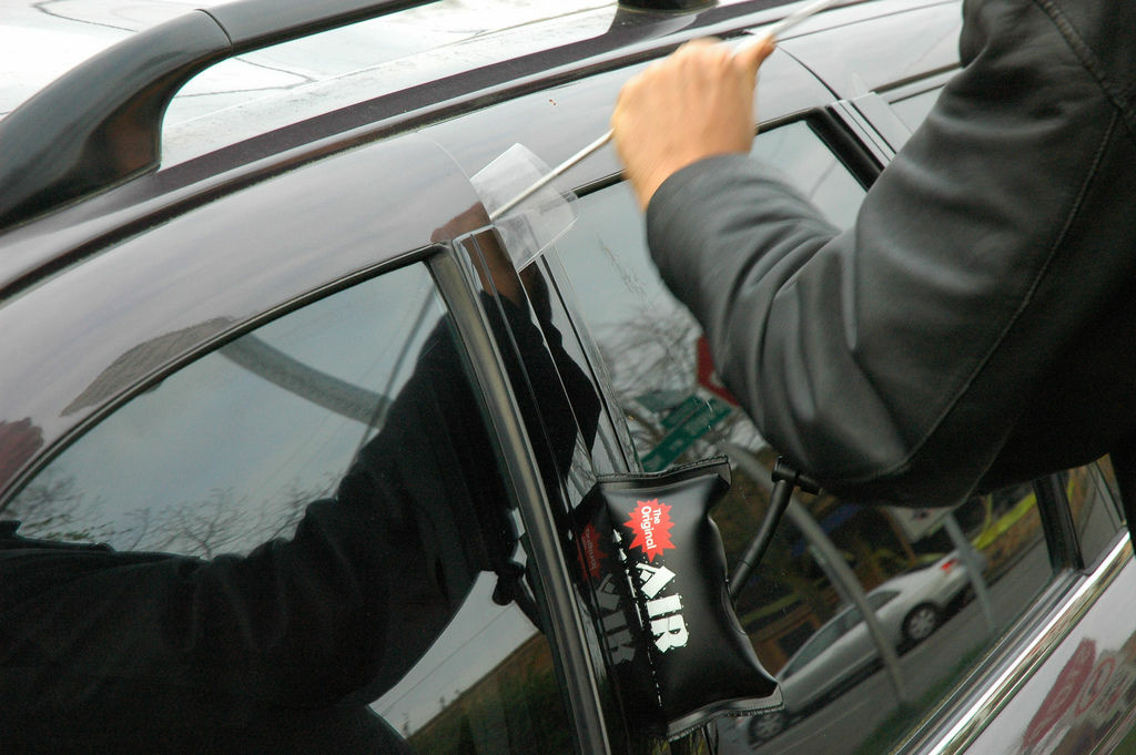 Leaving copies of racy magazines and crushed beer cans in your car make you a more likely target for car theft.
