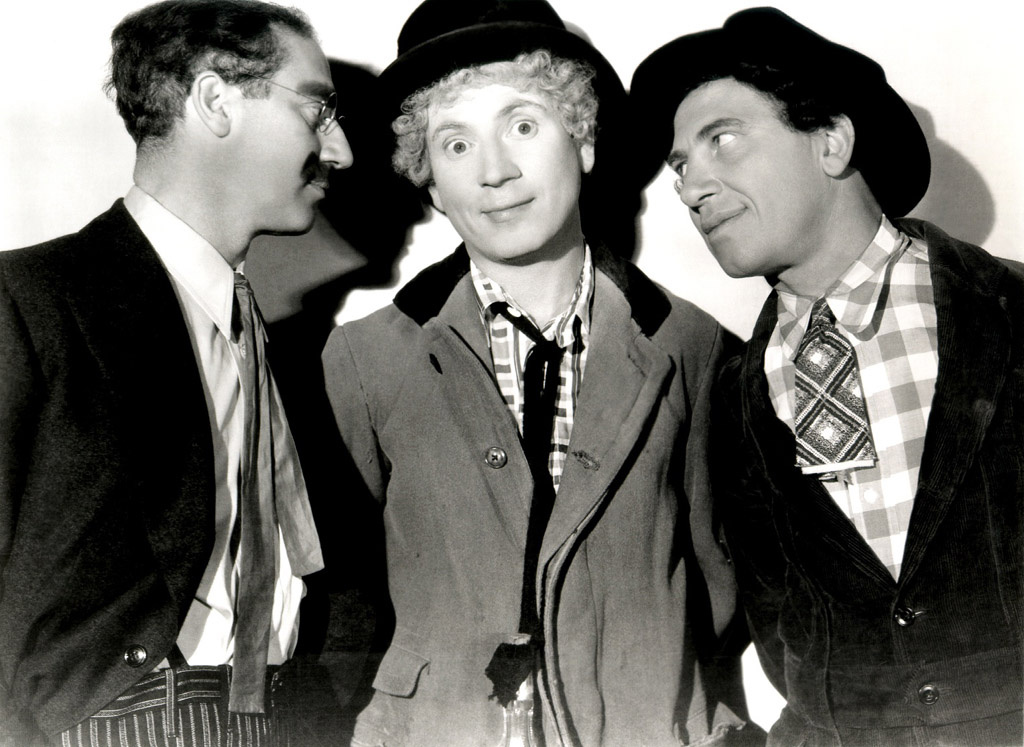 The Marx brothers.