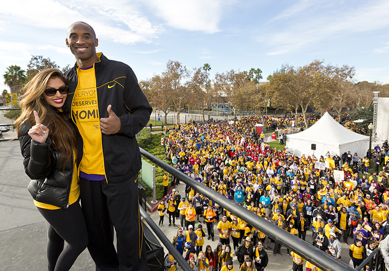 The Lakers' Kobe Bryant will be honorary chair of Saturday's HomeWalk 5K race and walk to raise funds for the homeless in L.A.