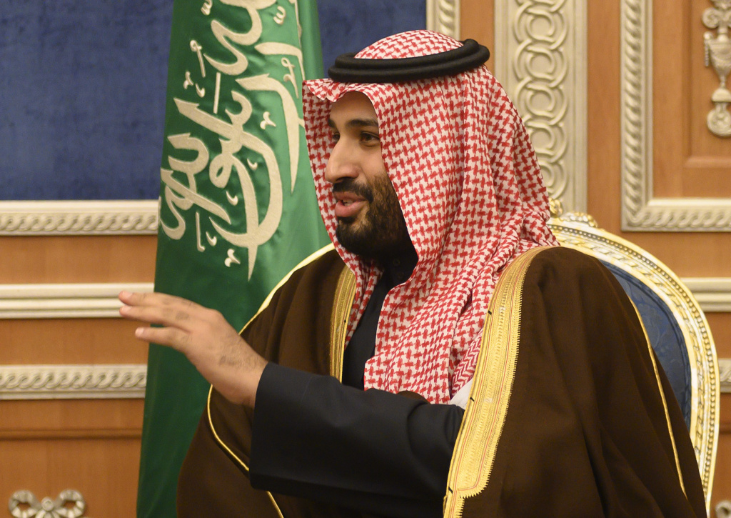 A new interim report from the House Oversight Committee details Trump administration officials' efforts to transfer nuclear technology to Saudi Arabia. Saudi Crown Prince Mohammed bin Salman, pictured here, visited the U.S. in March 2017.