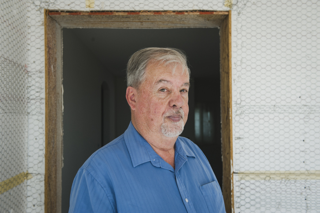 Cliff O'Neill, director of the Quechan Housing Authority on the Fort Yuma Indian Reservation oversees the Quechan Tribe's efforts to build affordable housing under a new tax credit program.