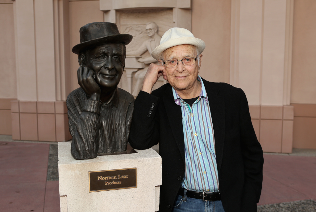 Norman Lear attends The Tanning of America special screening at the Leonard Goldenson Theatre on June 3, 2014 in North Hollywood, California.