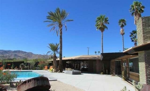 Huell Howser's home in 29 Palms, which just went on the market for $395,000.